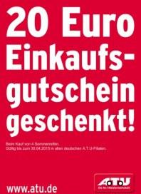 A.T.U Auto Teile Unger 20€ Einkaufsgutschein geschenkt April 2015 KW17