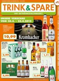 Trink und Spare Unsere Vorschau vom 20.4.-25.4.2015 April 2015 KW17