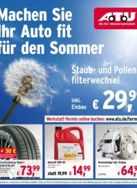 A.T.U Auto Teile Unger Machen Sie Ihr Auto fit für den Sommer April 2015 KW18