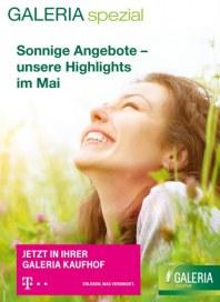 Telekom Shop-in-Shop bei Galeria Kaufhof Sonnige Angebote Mai 2015 KW18