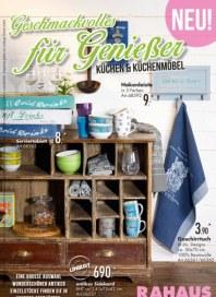 Rahaus Geschmackvolles für Genießer - Küchen & Küchenmöbel Mai 2015 KW19