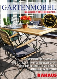 Rahaus Gartenmöbel Massivhaus-Kollektion 2015 Mai 2015 KW19