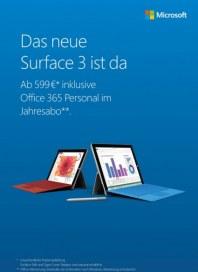 Microsoft Das neue Surface 3 ist da Mai 2015 KW21