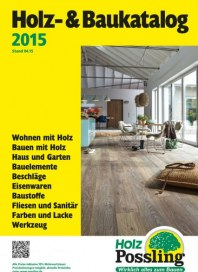 Holz Possling Holz- & Baukatalog Juni 2015 KW23