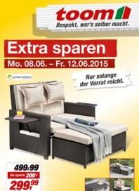 toom Baumarkt Extra sparen Juni 2015 KW24