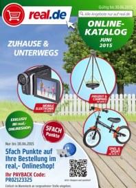 real,- Onlineshop Zuhause und Unterwegs Juni 2015 KW23