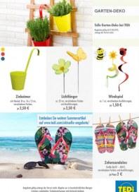 Tedi GmbH & Co. KG Garten-Deko Juni 2015 KW23