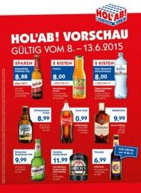 Hol ab Getränkemarkt HolAb! Vorschau Juni 2015 KW24
