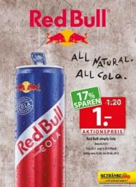 Getränkeland Red Bull im Angebot Juni 2015 KW25