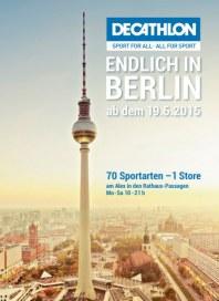 DECATHLON Endlich in Berlin Juni 2015 KW25