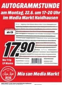 MediaMarkt Autogrammstunde Juni 2015 KW25