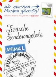 Das Futterhaus Tierische Sonderangebote Juni 2015 KW26