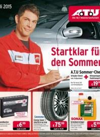 A.T.U Auto Teile Unger Startklar für den Sommer Juli 2015 KW27