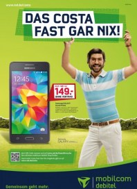 mobilcom-debitel Das Costa fast gar nix Juli 2015 KW27