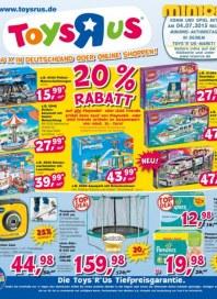 Toys''R''Us 20 % Rabatt Juli 2015 KW27