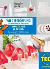 Tedi GmbH & Co. KG Wiedereröffnung in Berlin-Neuköln Juli 2015 KW28