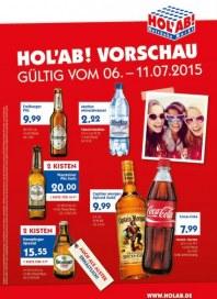 Hol ab Getränkemarkt HolAb! Vorschau Juli 2015 KW28