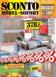 Sconto Möbel-Sofort Juli 2015 KW29