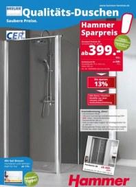 Hammer Qualitäts-Duschen. Saubere Preise Juli 2015 KW29