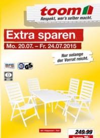 toom Baumarkt Extra sparen Juli 2015 KW30