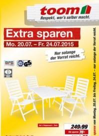 toom Baumarkt Extra sparen Juli 2015 KW30 1