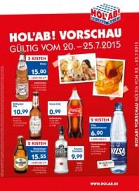 Hol ab Getränkemarkt HolAb! Vorschau Juli 2015 KW30 1
