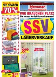 Hammer SSV Lagerverkauf Juli 2015 KW30