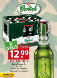 Getränkeland Grolsch - Angebot Juli 2015 KW31
