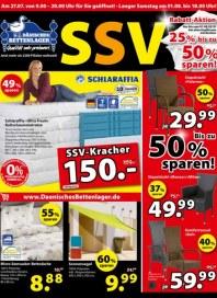 Dänisches Bettenlager SSV Rabattaktion Juli 2015 KW31