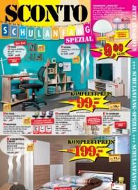 Sconto Schulanfang Spezial Juli 2015 KW31