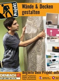 Hornbach Wände und Decken gestalten Juli 2015 KW31
