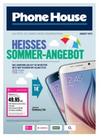 Phone House Heißes Sommer-Angebot August 2015 KW31