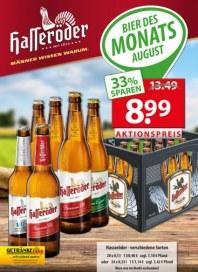 Getränkeland Hasseröder...Angebot August 2015 KW31
