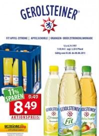 Getränkeland Gerolsteiner...Angebot August 2015 KW32