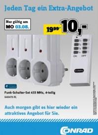 Conrad Jeden Tag ein Extra-Angebot August 2015 KW32