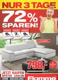 Flamme Möbel Bis zu 72% sparen August 2015 KW32