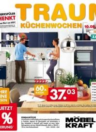 Möbel Kraft Traum-Küchenwochen August 2015 KW32