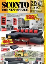Sconto Wohnen Spezial August 2015 KW33