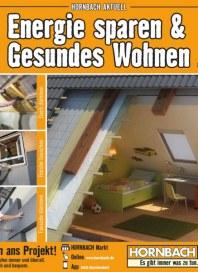 Hornbach Energie sparen & Gesundes Wohnen August 2015 KW33