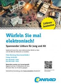 Conrad Würfeln Sie mal elektronisch September 2015 KW36