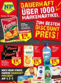 NP-Discount Dauerhaft über 1000 Markenartikel zum Discountpreis August 2015 KW36