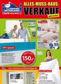 Dänisches Bettenlager Alles-Muss-Raus-Verkauf August 2015 KW35 1