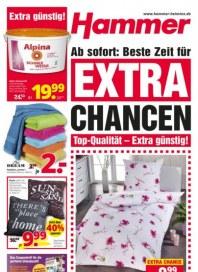 Hammer Ab sofort: Beste Zeit für Extra Chancen August 2015 KW35