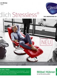 Möbel Hübner Endlich Stressless September 2015 KW36