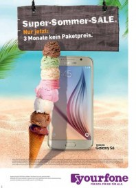 yourfone Super-Sommer-Sale September 2015 KW36