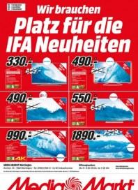 MediaMarkt Wir brauchen Platz für die IFA Neuheiten September 2015 KW36
