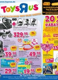 Toys''R''Us 20 % Rabatt September 2015 KW36