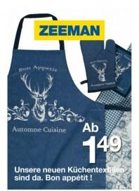 Zeeman Unsere neuen Küchentextilien sind da. Bon appétit September 2015 KW36
