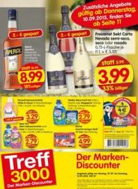Treff 3000 Der Marken-Discounter September 2015 KW37