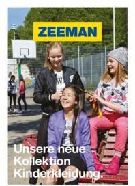 Zeeman Unsere neue Kollektion Kinderkleidung September 2015 KW37